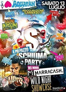 Schiuma Party Aquafan 2013 – Marracash