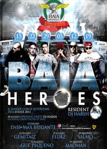 discoteca baia imperiale baia on heroes