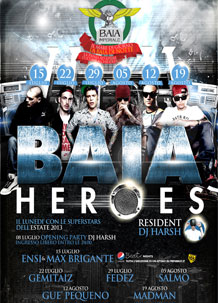 Baia Imperiale – DJ Harsh – 19 ago