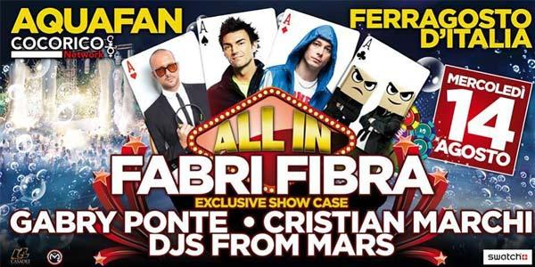 Schiuma Party Aquafan 2013 – Fabri Fibra