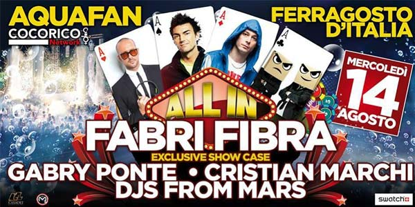 Schiuma Party Aquafan 2013 – Fabri Fibra