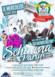 schiuma party Discoteca Baia Imperiale