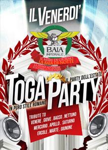 Baia Imperiale – Toga Party – 23 Ago