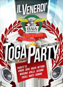 Baia Imperiale Toga Party – 16 Ago