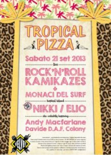 Velvet Rimini tropical pizza