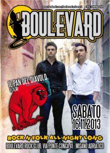Boulevard – Il Pan del Diavolo – 16 Nov 2013
