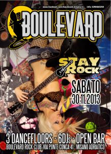 Boulevard – Stay Rock – 30 Nov 2013