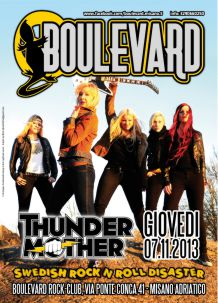 Boulevard – ThunderMother – 7 Nov 2013
