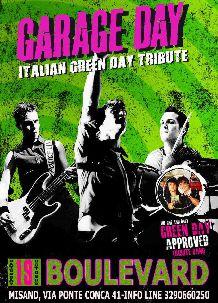 Boulevard 2013 – Green Day Tribute – 19 Ott