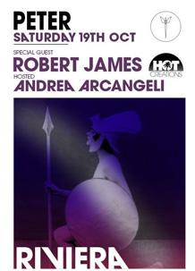 Peter Pan – Robert James – 19 Ott