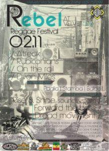 Velvet – Rebel Reggae Festival 2 Nov 2013