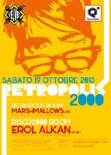 Velvet Rimini Retropolis 2000 sabato 19 ottobre