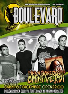 Boulevard – Omini Verdi – 21 Dic 2013