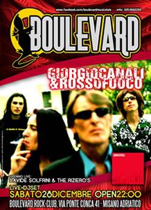 Boulevard – Giorgio Canali – 28 Dic 2013