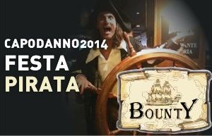 Bounty Rimini – Capodanno Pirata – Capodanno 2014