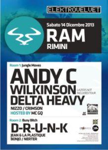 Velvet Rimini – ElectroVelvet – 14 Dic 2013