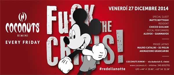coconuts rimini fuck the crisis 27 dicembre 2013