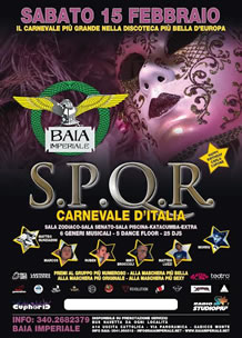 Carnevale 2014 alla Baia Imperiale