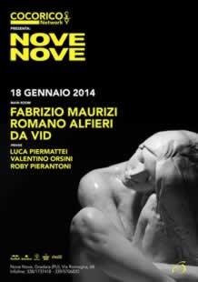 Cocorico Riccione al nove nove club 2014
