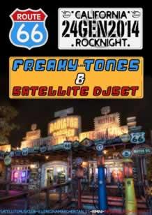 Satellite presenta Freaky Tones 24gen2014