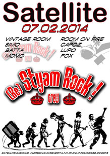 Styam Rock Crew Vs Satellite Dj 7 Feb 2014