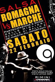 Salsa Romagna Vs Marche all'Altromondo