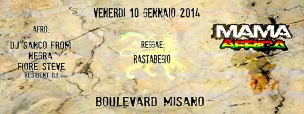 boulevard mama africa 10 gennaio 2014