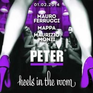 Heels in The Room al Peter Pan 1 Feb 2014