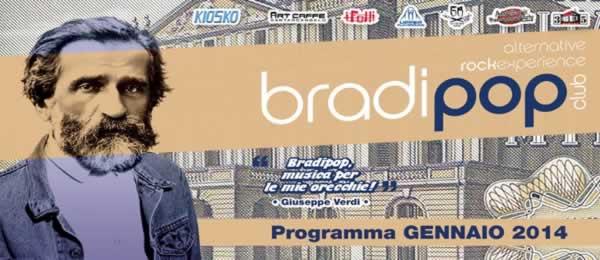 serate bradipop gennaio 2014