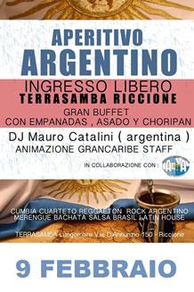 Aperitivo Latino al Terrasamba 9 Feb 2014