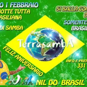 Notte Brasiliana al Terrasamba 1 Feb 2014