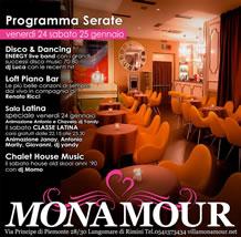 Villa Monamour week-end 24 e 25 gennaio