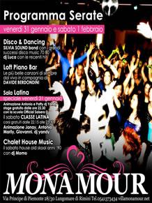 Villa Monamour week-end 31 e 1 Febbraio