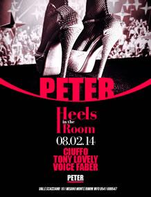 Heels in The Room al Peter Pan 8 Feb 2014