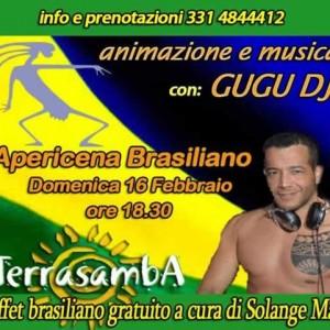 Aperitivo Brasiliano al Terrasamba