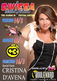 Riviera Cartoon festival Boulevard 2014