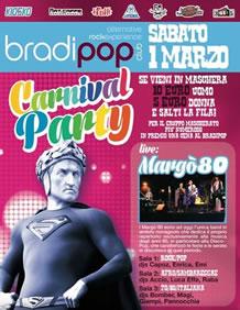 Grande festa di Carnevale al Bradipop