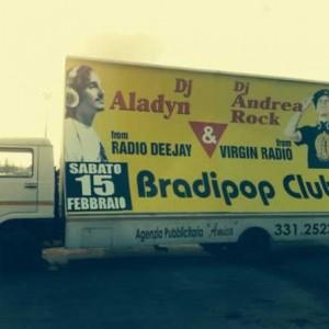 Radio Deejay & Virgin al Bradipop