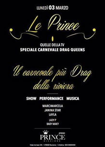 Il Carnevale più Drag del Prince Riccione