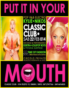 Put It In Your Mouth Classic Club 22/2/14