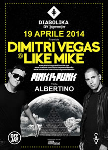 Pasqua 2014 Cocorico con Dimitri Vegas
