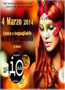 Festa di Carnevale all'Io Club 4 Mar 2014