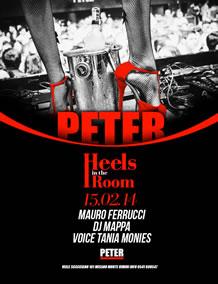 Heels in The Room al PeterPan 15 Feb 2014