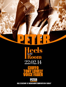 Heels in The Room al Peter Pan 22 Feb2014