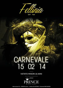 Carnevale al Prince Riccione 15 Feb 2014