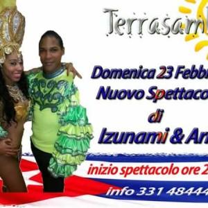 Izunami e Ariel al Terrasamba 23 Feb 2014