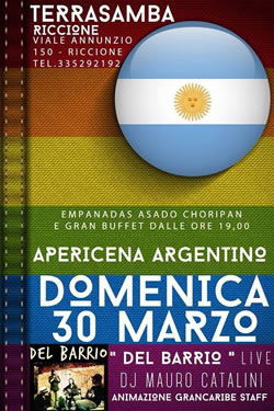 Apericena Argentino Terrasamba 30 Mar2014