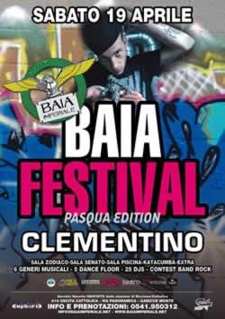 Pasqua Baia Festival alla Baia Imperiale