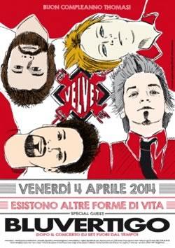 Bluvertigo al Velvet Rimini il 4 aprile