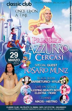 Principe Azzurro al Classic Club Rimini